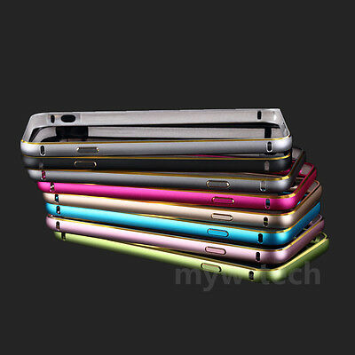 Luxury Thin Aluminum Alloy Metal Bumper Frame Case Cover for Samsung Galaxy S6