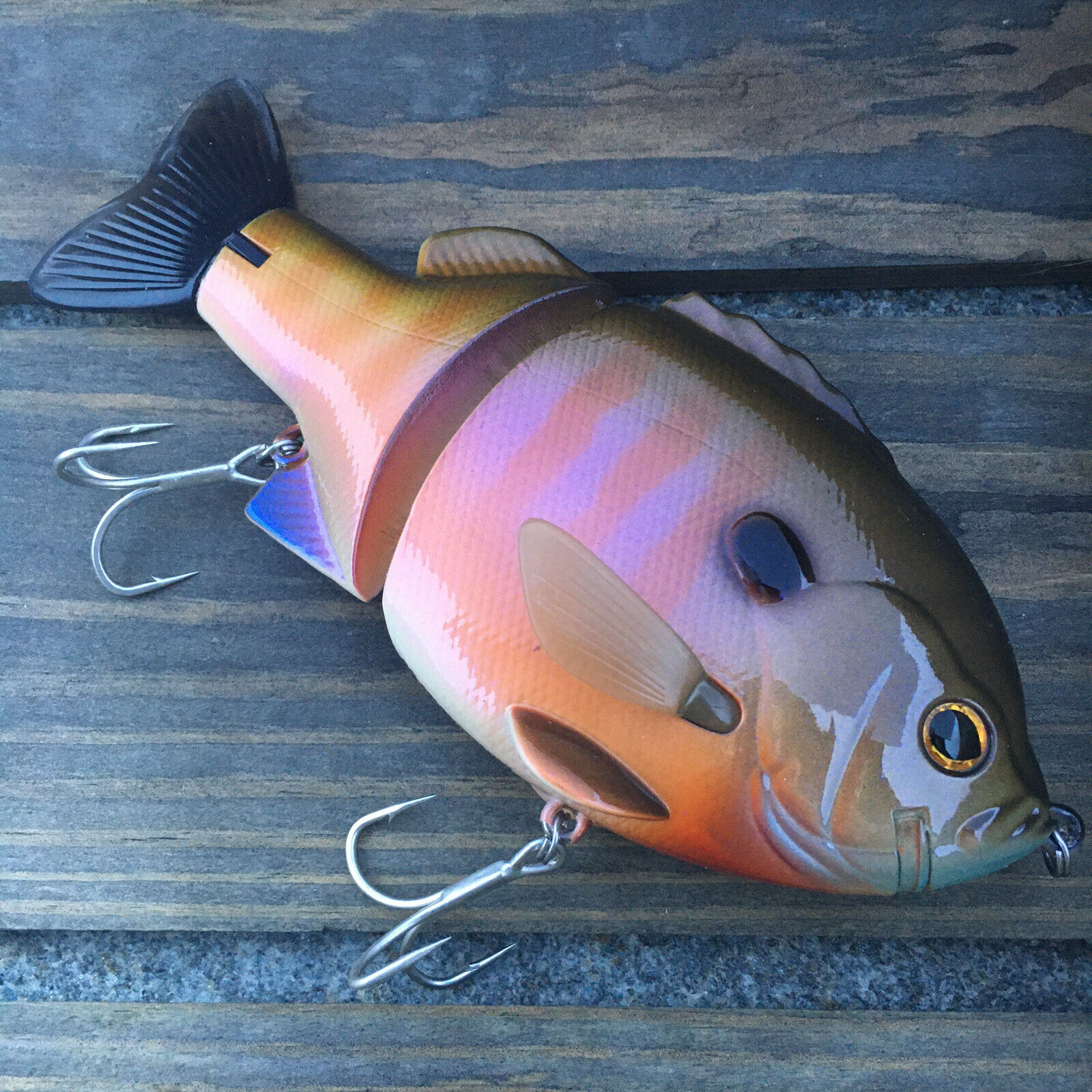 DEPS BULL SHOOTER 160 SS #02 Flash Baby Gill SLOW SINKING  NEW