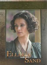 "Game of Thrones Season 5 - No 63 ""Ellaria Sand"" GOLD Parallel Base Card #075/150"