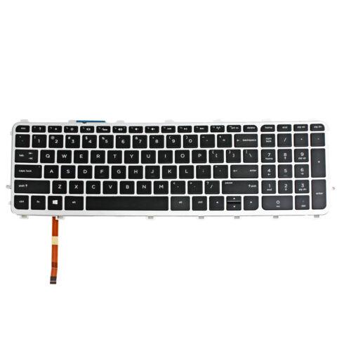 Keyboard For HP Envy 17-j034CA 17-j166NR 17-j184NR 17-j020US W// Frame Backlit