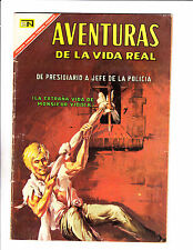 "Aventuras De La Vida Real No 141 -1967 -Spanish -    "" Jail Break Cover! """