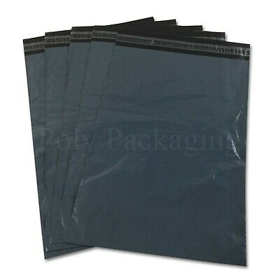 """50 Strong GREY 21 x 24/"""" Mailing Postal Packaging Parcel Bags 525x600mm Packing"""