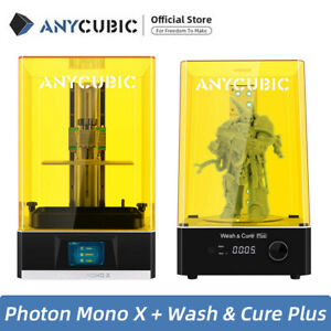 Official Anycubic Wash & Cure Plus + Mono X LCD Resin 3D Printer 192*120*245mm