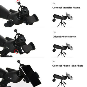 Universal-Cell-Phone-Telescope-Adapter-Holder-Mount-Bracket-Spotting-Scope-RIM