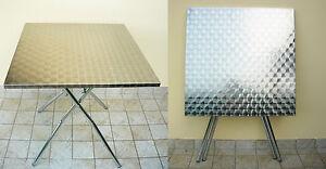 Tavolo pieghevole da esterno o interno 80x80 cm ebay - Tavolo pieghevole da esterno ...
