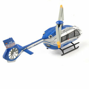1-87-Scale-Airbus-Helicopter-H145-Polizei-Schuco-Airplane-Model-Aircraft-Toys