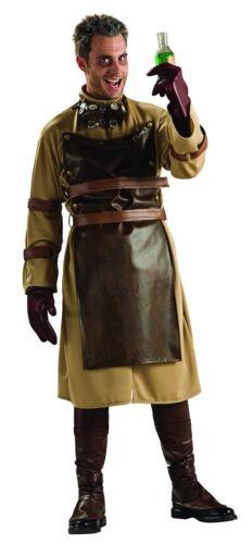 Steampunk Mad Scientist Evil Halloween Adult Costume Apron Gothic Psycho Men