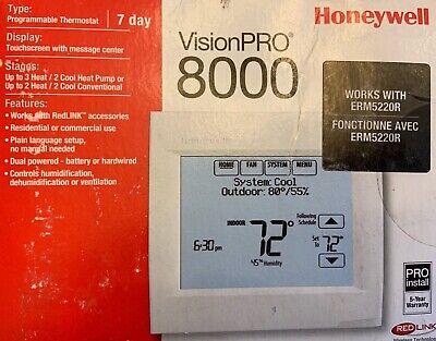 Honeywell TH8321R1001 Vision pro 8000 Thermostat