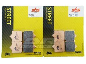 Fits Aprilia RSV1000R 2004-2008 Set of SBS Street Sinter Front Brake Pads 762HS