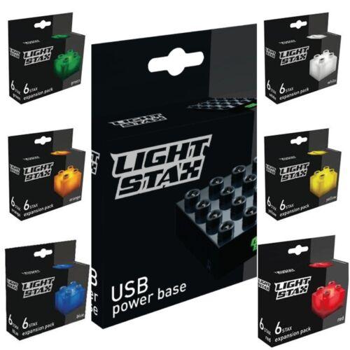 Light Stax 36 Bricks+Base+USB Cable Lightstax £21.99 FREEPOSTAGE