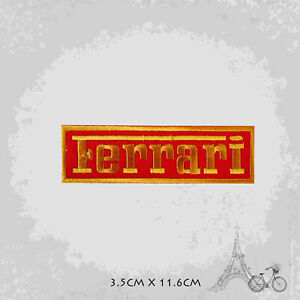 Ferrari Car Logo Patch Iron On Patch Sew On Embroidered Patch