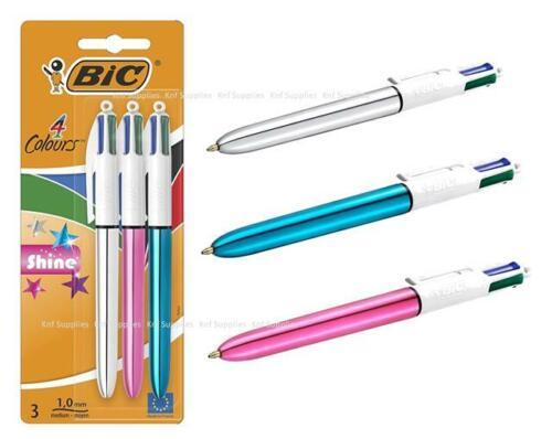 BIC Multi Colour Shine Ballpoint Pen