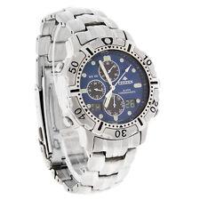 Citizen Mens Promaster Blue Digital Alarm Chronograph Quartz Watch JN3010-52L