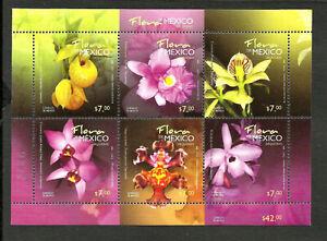 Le-Mexique-Fleurs-Michel-Bl-94-neuf-sans-charniere-Nice