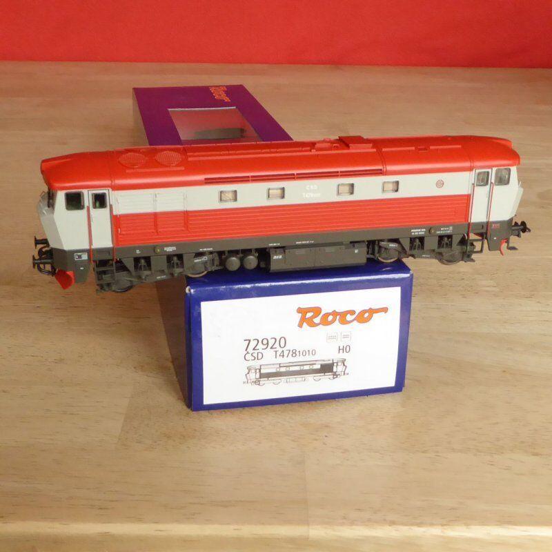 Roco 72920 H0 Diesellokomotive T 478.1010 478.1010 478.1010 Bardotka der CSD Ep.4 5,mit DSS u.LED    Am praktischsten  d25179