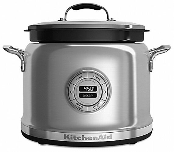 KitchenAid Multi Cooker With Stir Tower Accessory 10 Function Steam Sear Cook