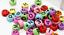 miniatuur 22 - 200 Alphabet Letter Mixed Colour Beads Gems Kids Girls DIY Jewellery Xmas Gift