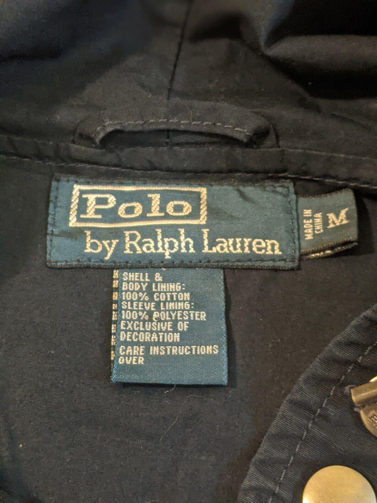Polo Ralph Lauren Jacket 1980s Vintage Talon Zipp… - image 5