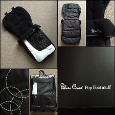 SILVER CROSS POP FOOTMUFF WHITE BUBBLES FOOT MUFF NEW IN PACK COSY TOES! XMAS()