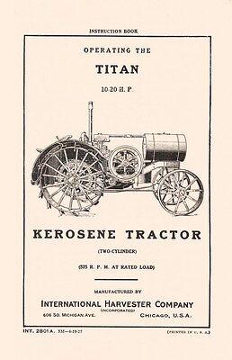 Mccormick internacional Tractor B450 Manual del operador