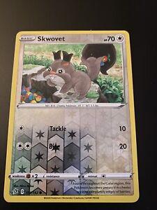 NM Common Reverse Holo Pokemon Card Skwovet 151//192 Rebel Clash
