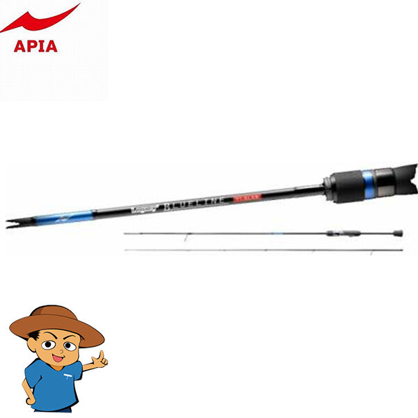Apia LEGACY' blueELINE 71.5LXS Extra Light 7'1.5  fishing spinning rod from JAPAN