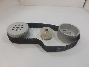 Chevy 283-350 Gilmer Drive pulley kit SWP Billet Aluminum
