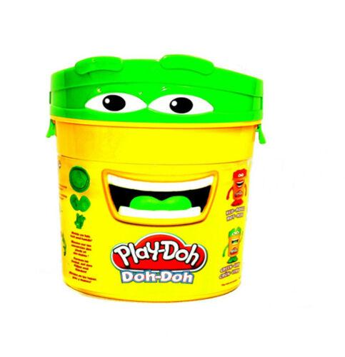 Hasbro EU-213 Play Doh Figur Aufbewahrungsbox Grün für Knete mit Zubehör