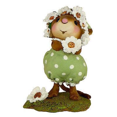 Wee Forest Folk Miniature Figurine M-396 - Daisy Chain