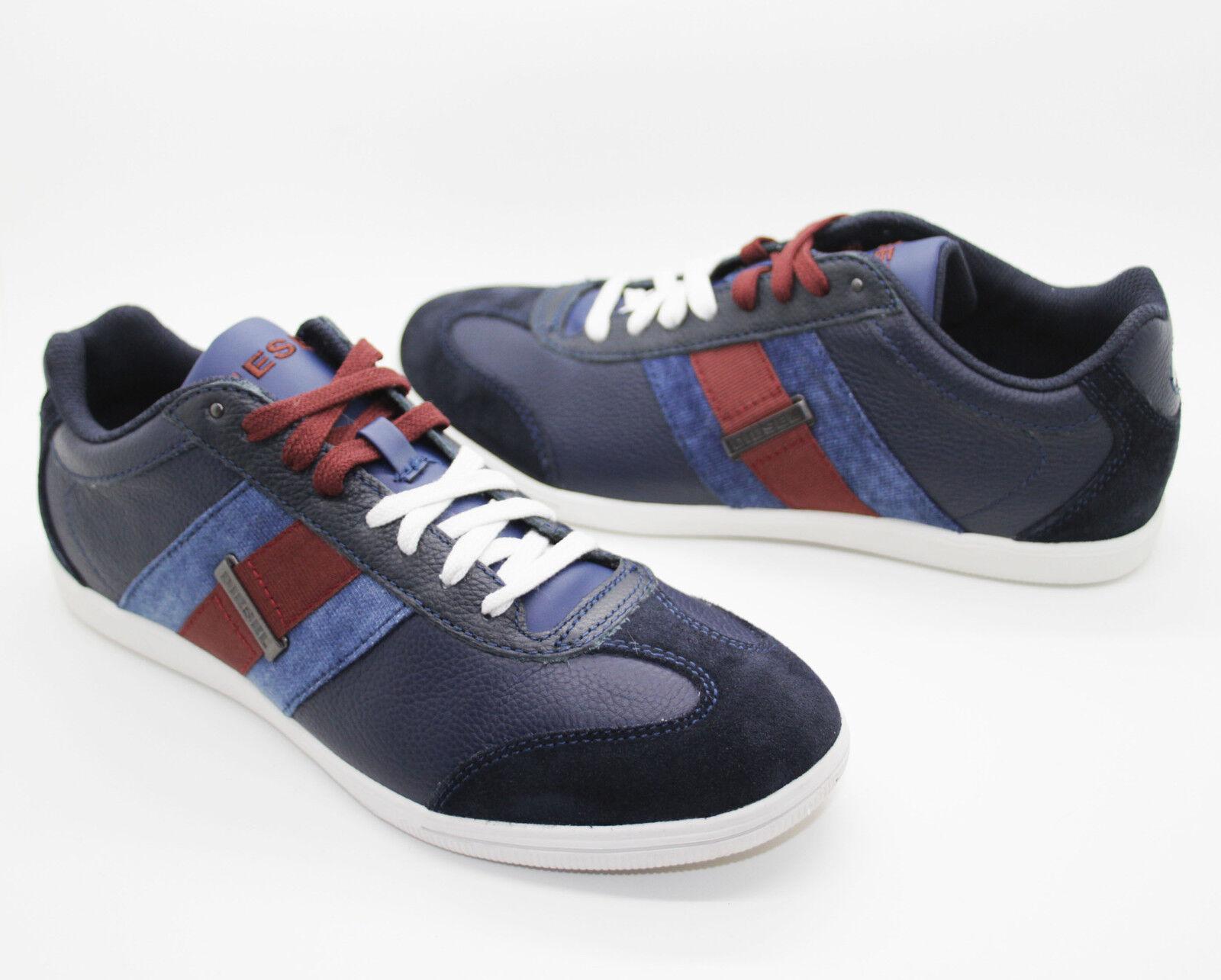 NIB DIESEL Men's Lounge bluee Night Fashion Casual Sport shoes Sneakers