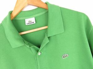 at4753-LACOSTE-polo-t-shirt-Devanlay-vert-original-Premium-Taille-7