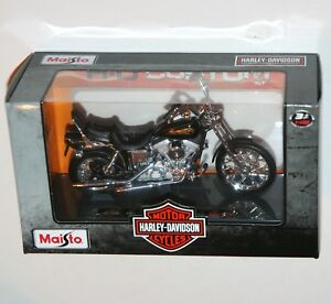 Maisto-Harley-Davidson-1997-FXDWG-DYNA-WIDE-GLIDE-Model-Scale-1-18