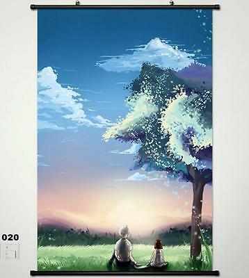 Hotarubi No Mori E The Light Of A Firefly Forest Home Decor Poster Wall Scroll 2
