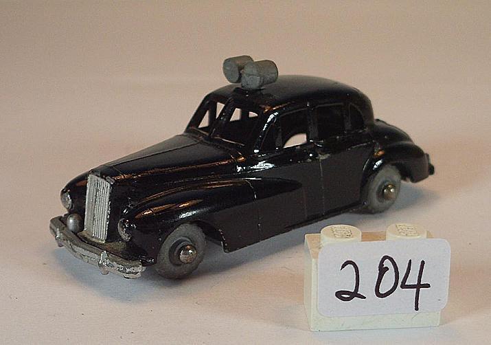 Budgie ca. 1 66 Nr. 5 Wolsley Six - Eighty Limousine Police Car Polizei N1  203    Zuverlässige Leistung