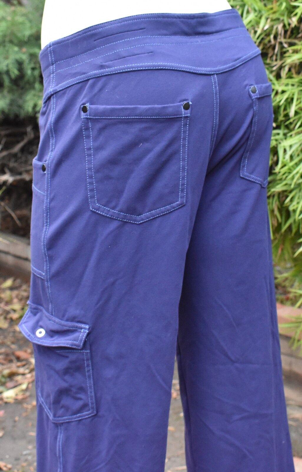 342696709d MOVA PANT SZ 10 US WOMEN S DARK blueE STRETCH PANTS 27 INSEAM PURPLE KUHL  ooaidv1885-Activewear Bottoms