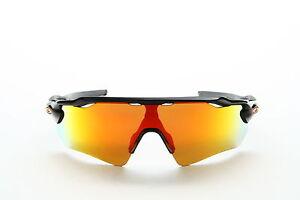 11462c2dc8a Oakley Radar EV Path Polished Black Fire Iridium Sunglasses for sale ...