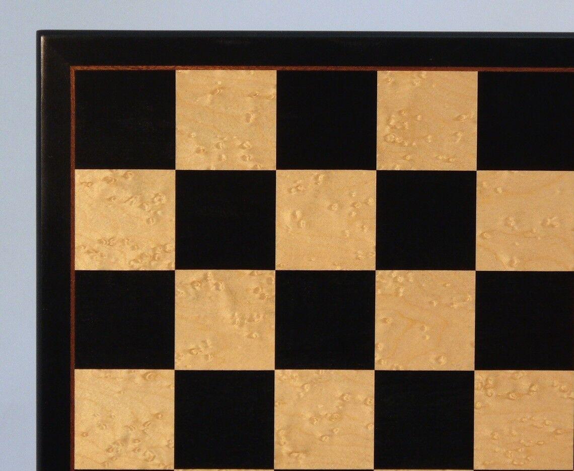 ordene ahora los precios más bajos Tablero de ajedrez ajedrez ajedrez - 17   2  SQ-Birdseye Maple Con Elegante Framing (WW 50440bbm)  precios bajos todos los dias