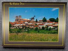 LA CHAISE DIEU HAUTE LOIRE ABBAYE BENEDICTINE  postcard