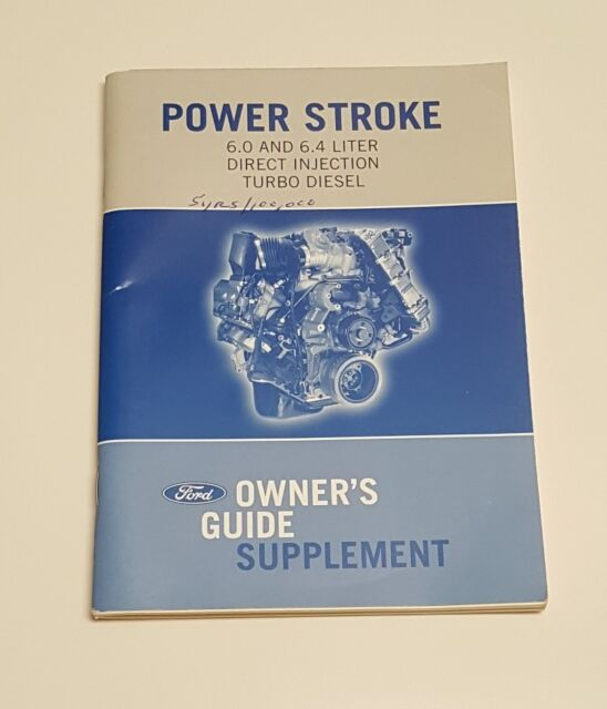 Borgwarner Ford 6 4l Powerstroke Manual Guide