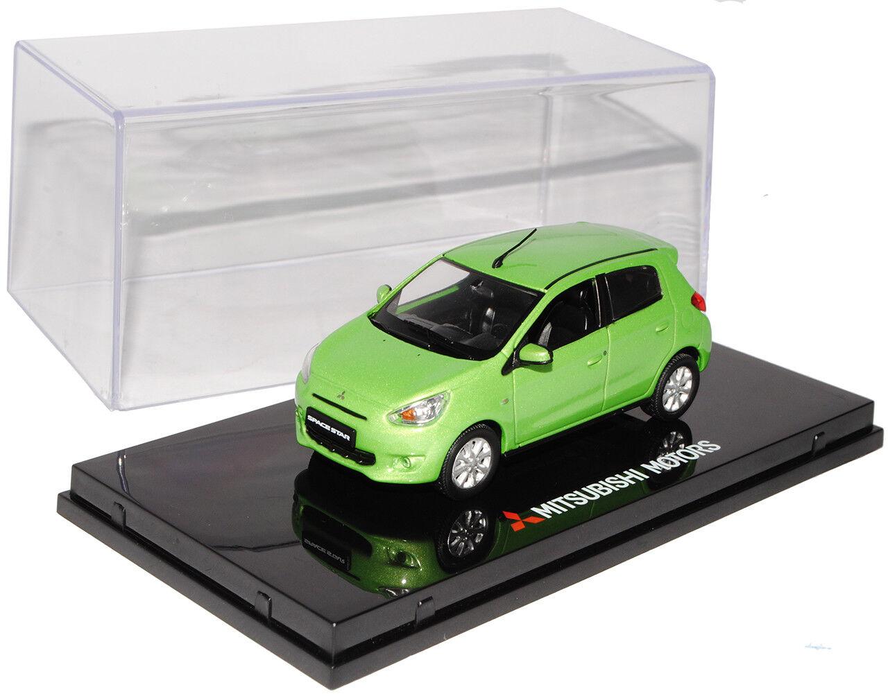 Mitsubishi Mitsubishi Mitsubishi Space Star mirage 5 puertas verde a partir de 2012 1 43 vitesse modelo coche con... 7af448