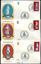Berlin 1974 Berlin Porcelain Figures FDC First Day Cover Set #C34852