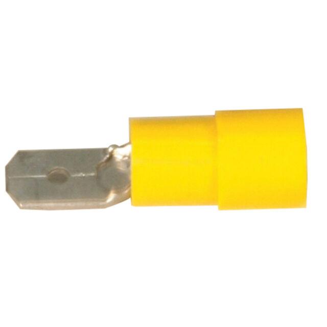 Male Spade - Yellow - Pk.100 Male Spade - Yellow - Pk.100 PT4710