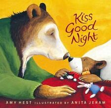 Sam Bks.: Kiss Good Night Lap-Size Board Book by Amy Hest (2014, Board Book)