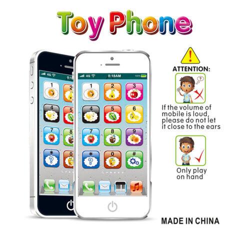 Baby Spielzeug Telefon Kinder Handy Rhytmikspielzeug Musik Früherziehung NEU