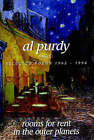 Rooms for Rent in the Outer Planets: Selected Poems 1962-1996 by Al Purdy (Paperback, 1996)