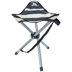 Trespass-RITCHIE-Camping-Fishing-Folding-Tridpod-Stool-Seat-With-Carrying-Bag