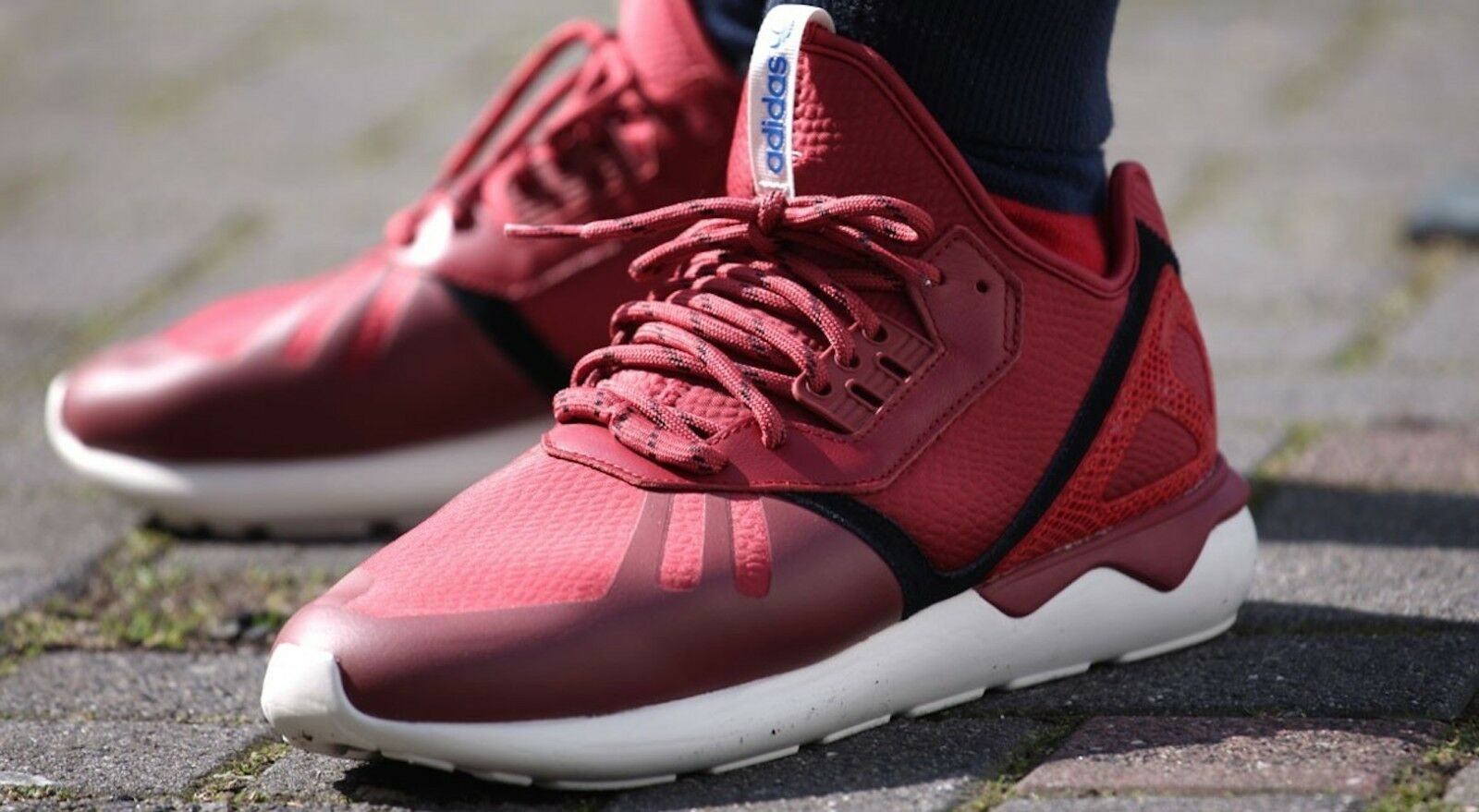 Adidas TUBULAR Running Shoe St Nomad B35642 Red/Red/Core Black B35642 Nomad Sz 13 NEW 4a6275