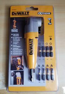 DeWALT DT71517T 90 Degree Impact Drill Driver Angle Attachment Set Kit