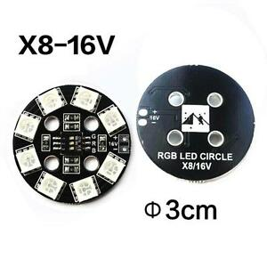 2x-RGB-5050-LED-Light-7-Color-Circle-X8-16V-w-DIP-Switch-for-QAV250-DJI-Phantom