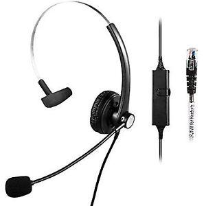 447672a67e7 Telephone Headset for Avaya IP PHONES 1608 1616 9601 9608 9610 9611 ...